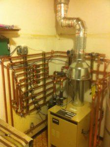 Residental Boiler room